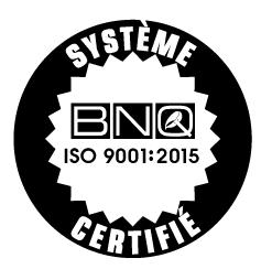 Logo BNQ ISO 9001:2015